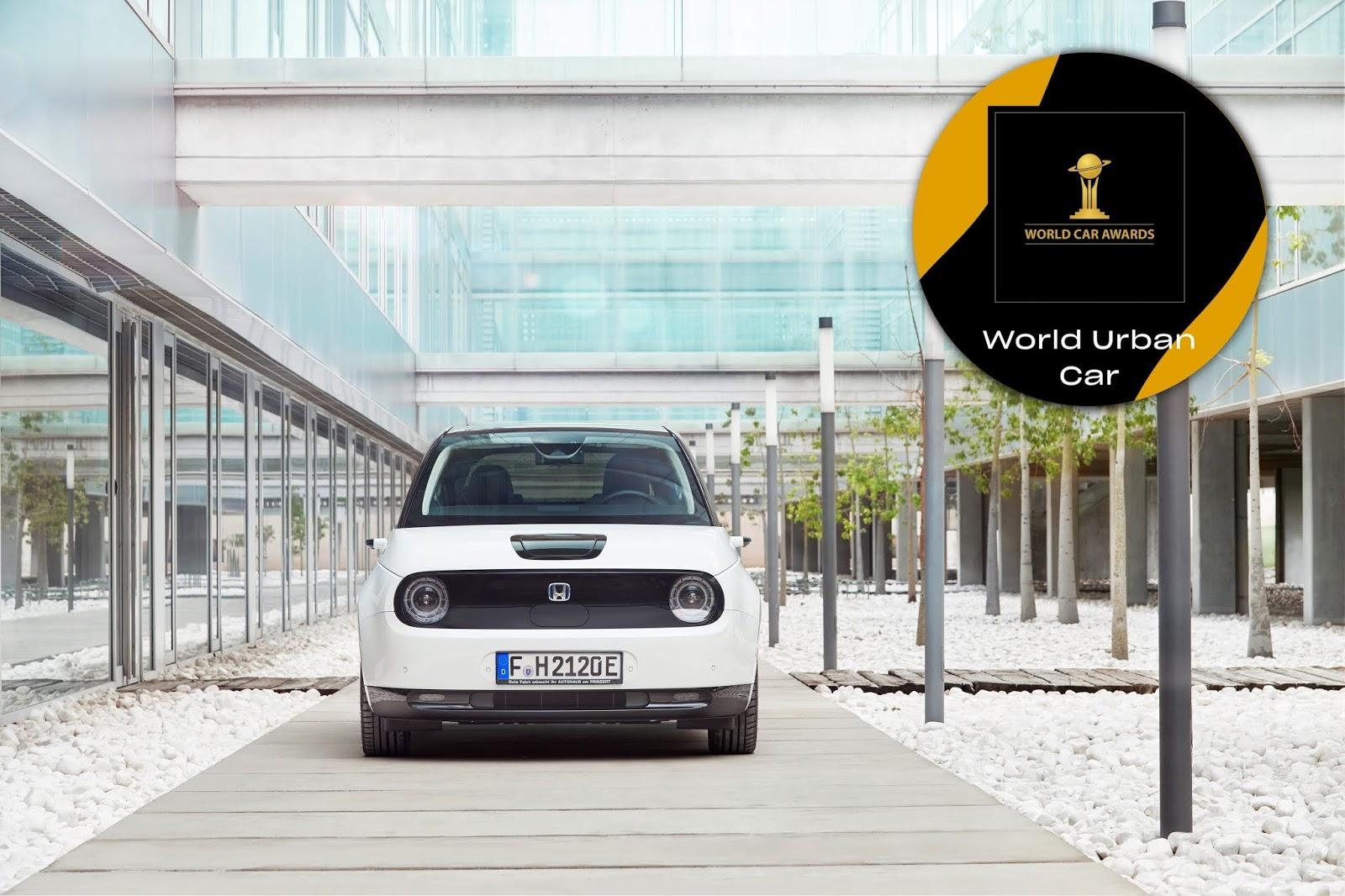 331860 HONDA e TRIUMPHS AT 2021 WORLD CAR AWARDS 1 Honda e : Θριάμβευσε Στα 2021 World Car Awards 2021 World Car Awards, Electric cars, electric vehicles, Honda, Honda e, World Car Awards, ειδήσεις, ηλεκτρικά, ηλεκτροκινηση