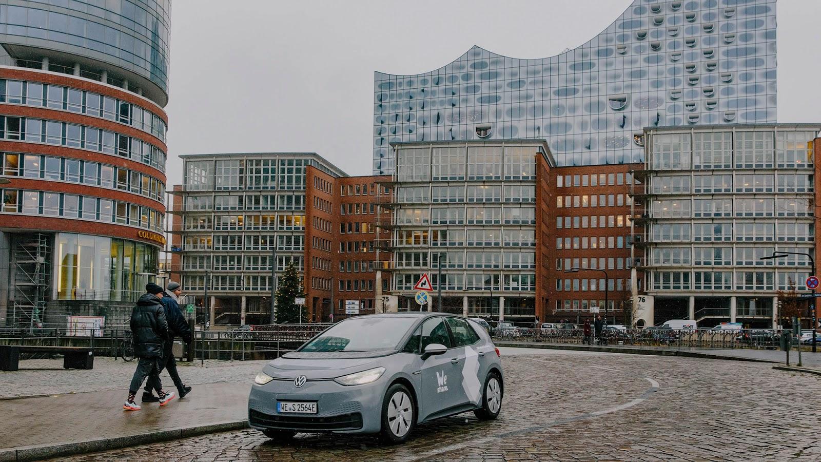 VOLKSWAGEN WESHARE HAMBURG 1 Volkswagen : Ξεκινά car sharing ηλεκτρικών αυτοκινήτων στο Αμβούργο car sharing, Electric cars, electric vehicles, ID.3, Volkswagen, Volkswagen ID.3, VW ID.3, ειδήσεις, ηλεκτρικά, ηλεκτροκινηση