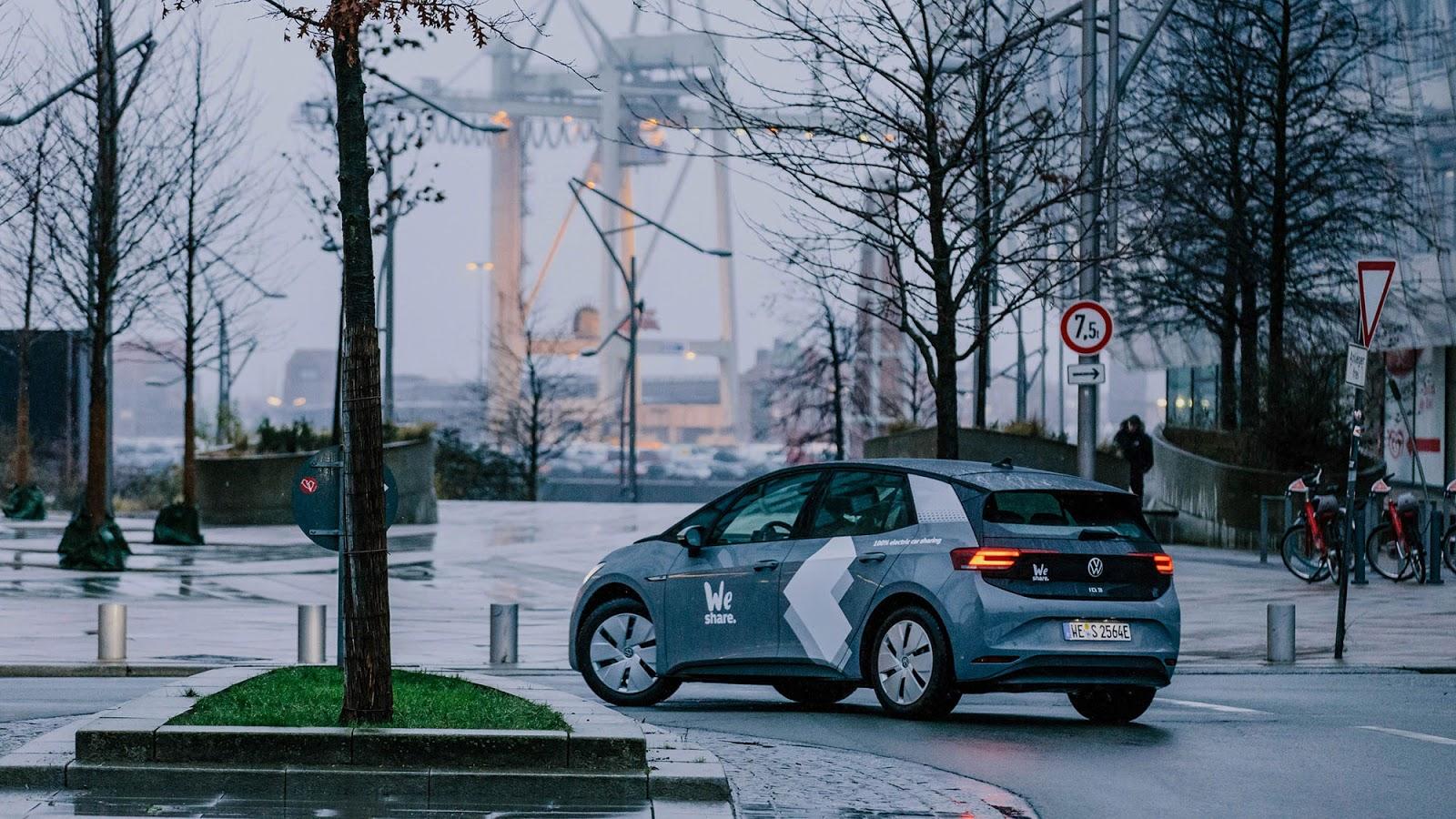 VOLKSWAGEN WESHARE HAMBURG 2 Volkswagen : Ξεκινά car sharing ηλεκτρικών αυτοκινήτων στο Αμβούργο car sharing, Electric cars, electric vehicles, ID.3, Volkswagen, Volkswagen ID.3, VW ID.3, ειδήσεις, ηλεκτρικά, ηλεκτροκινηση