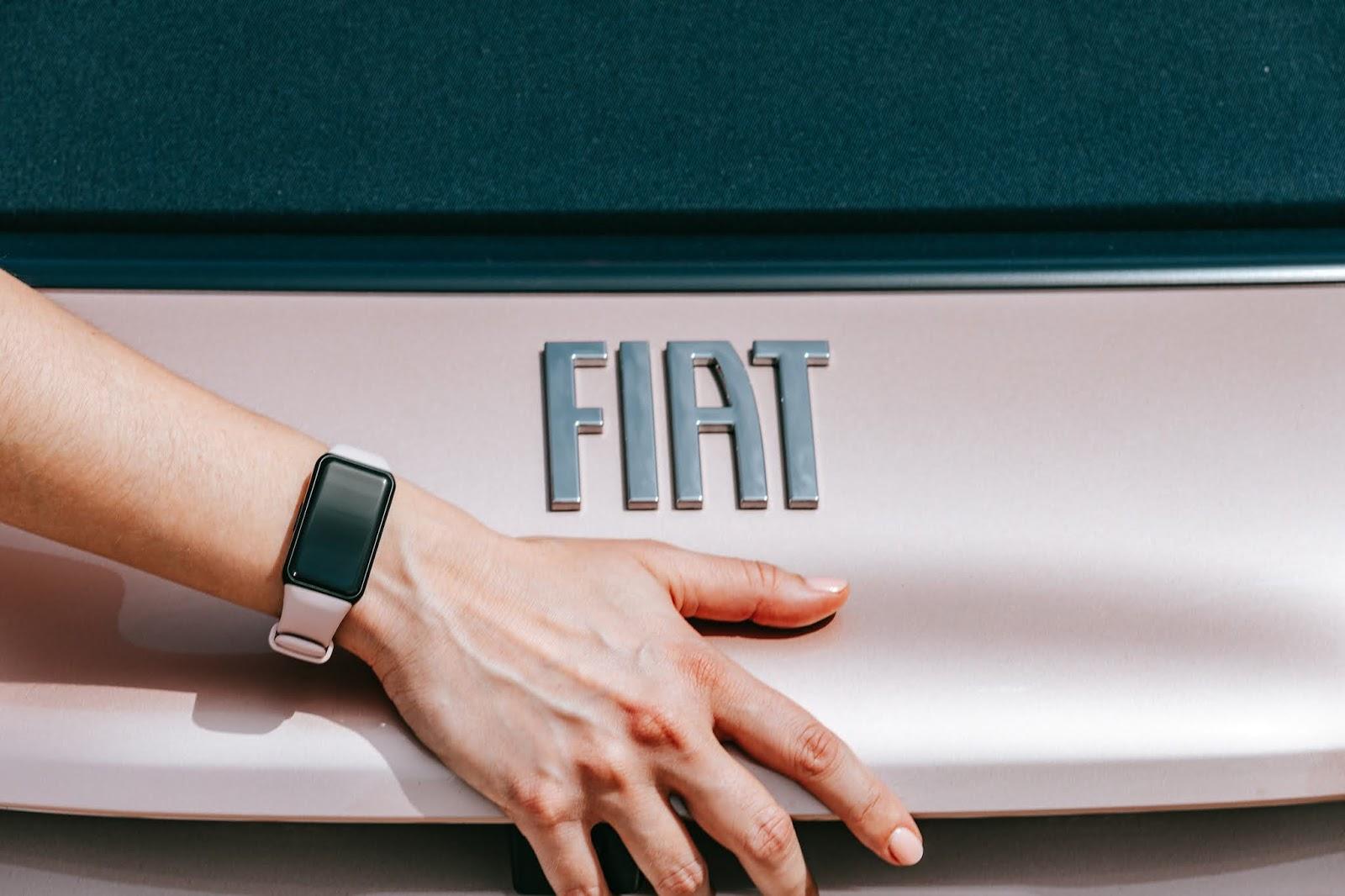 20210507img 2838 609cf1810861a 1 Honor Band 6 & Fiat 500e : Στιλ και Τεχνολογία με επίκεντρο τον άνθρωπο