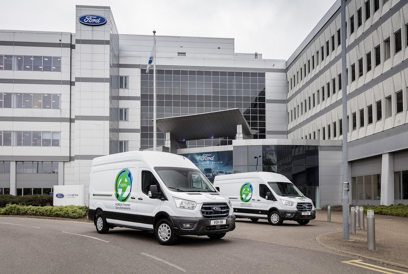 E TRANSIT TRIALS FLEET PROTOTYPES 1 Ford : Πρόγραμμα δοκιμών με Ευρωπαίους πελάτες για το νέο αμιγώς ηλεκτρικό E-Transit Van (& videos)