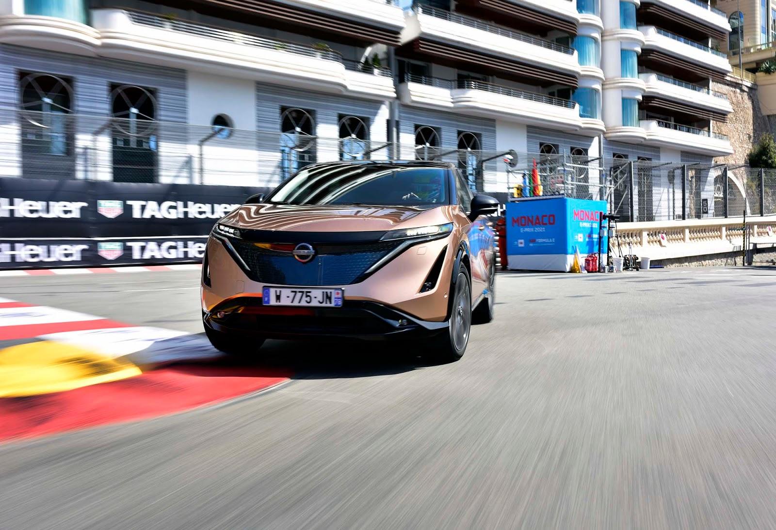 Nissan Ariya Monaco 026.JPG 1 To αμιγώς ηλεκτρικό Nissan Ariya στο σιρκουί του Μονακό