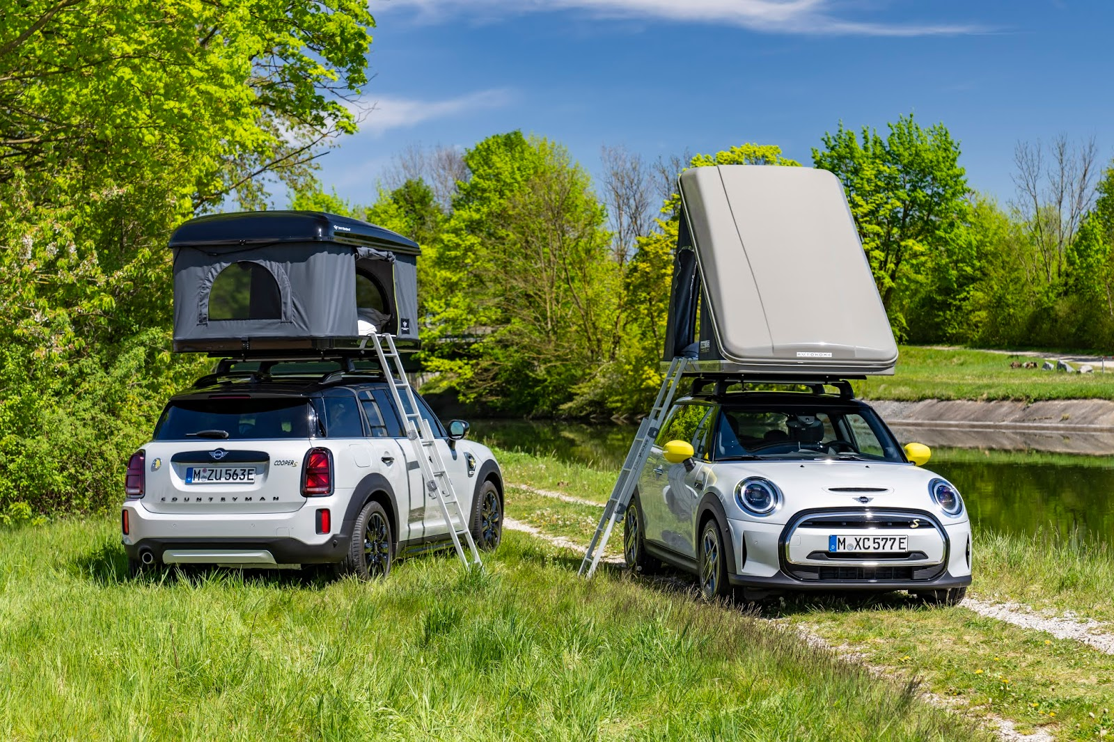 P90422193 highRes 1 Η MINI πηγαίνει διακοπές...με τον πιο πράσινο στόλο camper στον κόσμο