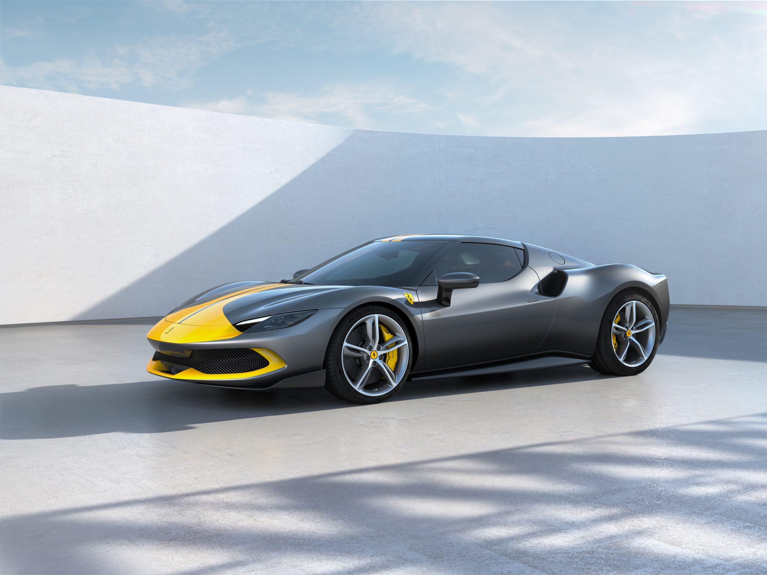 01 296 GTB Assetto Fiorano front scaled Αυτή είναι η νέα Ferrari 296GTB 296GTB, Ferrari, Ferrari 296GTB, supercar, supercars, zblog, ειδήσεις, Νέα