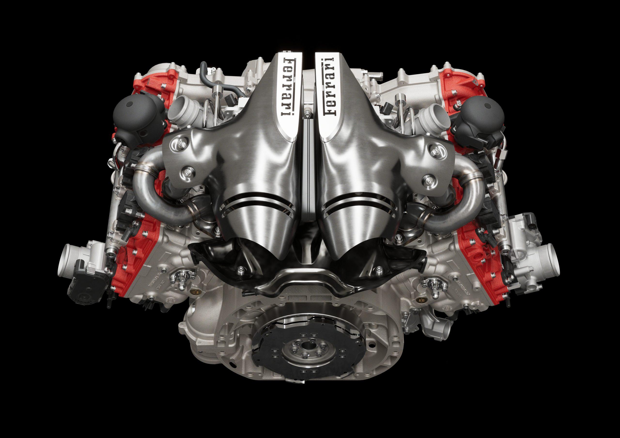 01 296 GTB Engine alto scaled Αυτή είναι η νέα Ferrari 296GTB 296GTB, Ferrari, Ferrari 296GTB, supercar, supercars, zblog, ειδήσεις, Νέα