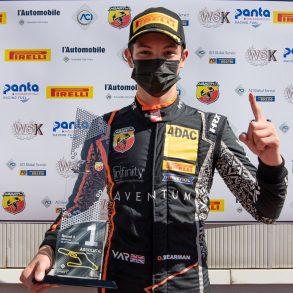 01 Oliver Bearman GBR 87 Van Amersfoort Racing Italian F.4 Championship Powered by Abarth Vallelunga Τριπλή νίκη για τον Oliver Bearman στη Vallelunga Abarth, Formula 4, αγωνες, ειδήσεις, Νέα