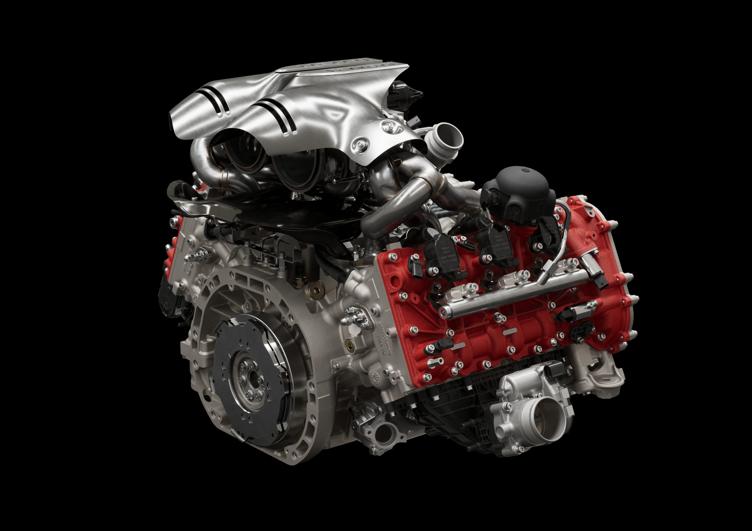 02 296 GTB Engine 34 scaled Αυτή είναι η νέα Ferrari 296GTB 296GTB, Ferrari, Ferrari 296GTB, supercar, supercars, zblog, ειδήσεις, Νέα