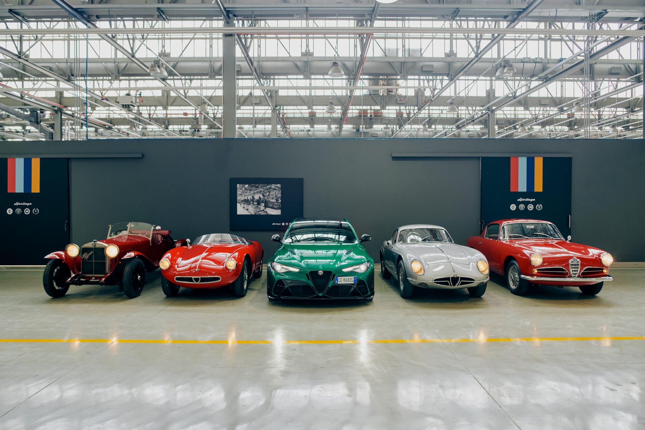 "03 Alfa Romeo and Heritage at the 2021 1000 Miglia scaled H Alfa Romeo ετοιμάζεται για το 39ο ιστορικό ""1000 Miglia"" 1000 Miglia, Alfa, alfa romeo, Alfa Romeo Giulia, Alfa Romeo Giulia GTA, Alfa Romeo Giulia GTAm, Giulia, Mille Miglia, zblog, ειδήσεις, Νέα"