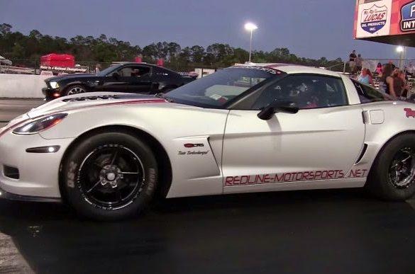 1500hp Corvette Μια Corvette Z06 κάνει το 400άρι εντός 7 δευτερολέπτων