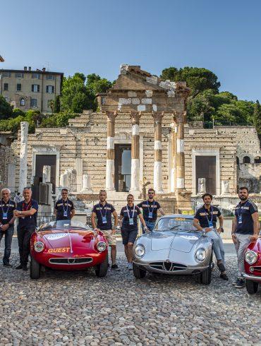 2NC7163 1000 Miglia 2021 : Η τελετή πιστοποίησης που αφιερώνεται στους λάτρεις των κλασσικών αυτοκινήτων