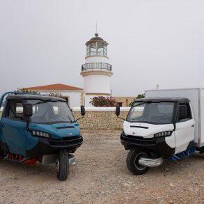 3ΜΧ lighthouse Το «μέλλον» των επαγγελματικών οχημάτων έφτασε στο νοτιότερο σημείο της Ευρώπης Wuzheng, Γαυδος, ειδήσεις, Νέα
