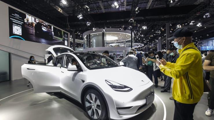 CHINA SHANGHAI AUTO H Tesla θα ανακαλέσει... online περίπου 300.000 Model 3 και Model Y Tesla, ανακλήσεις, ανάκληση, ηλεκτρικά, Νέα