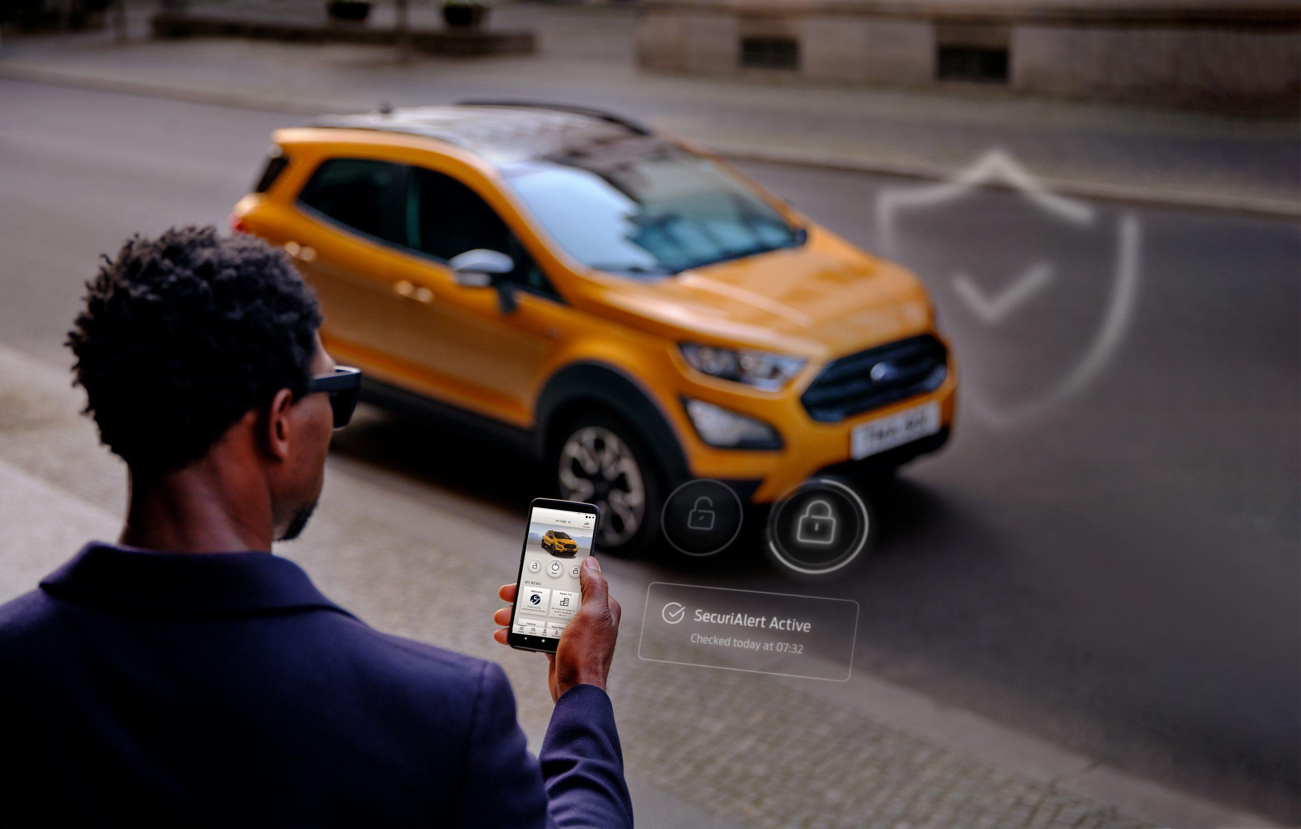 FordPass EcoSport SecuriAlert scaled Ford SecuriAlert : Ό,τι και αν συμβεί, θα σε ειδοποιήσει! Ford, ειδήσεις, Νέα