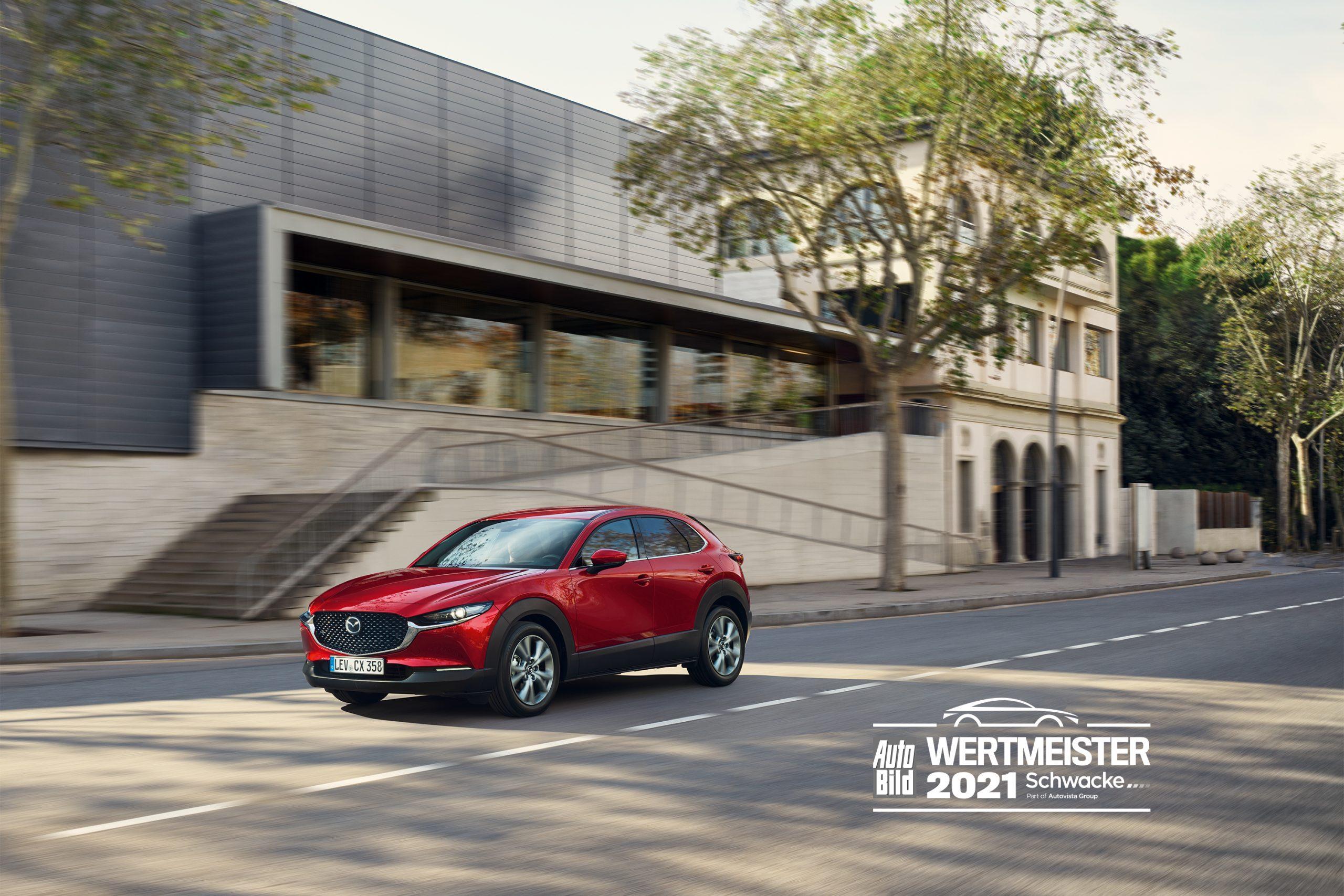 Mazda CX 30 Wertmeister scaled To Mazda CX-30 διατηρεί την τιμή του ως μεταχειρισμένο, λένε οι Γερμανοί Mazda, Mazda CX-30, zblog, βραβείο, μεταχειρισμένα, μεταχειρισμένο