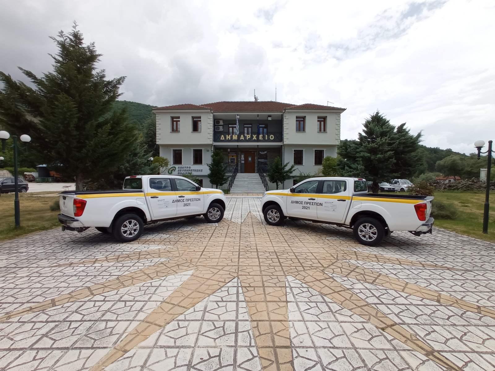 """Navara Prespes1 Δύο Nissan Navara στο """"οπλοστάσιο"""" του Δήμου Πρεσπών"""