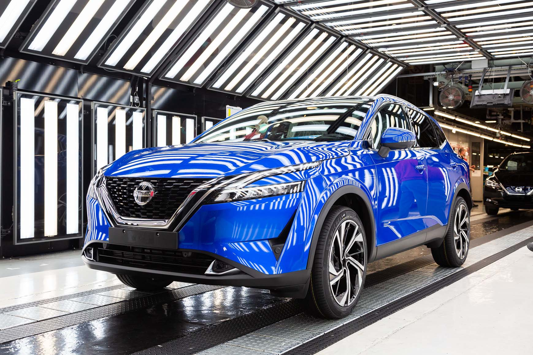 Qashqai TC 2 Nissan : ξεκινά την παραγωγή του νέου Qashqai και προσφέρει μια εμπειρία δεξιοτήτων σε κάθε μαθητή Nissan, Nissan Qashqai, Qashqai, ειδήσεις, Νέα