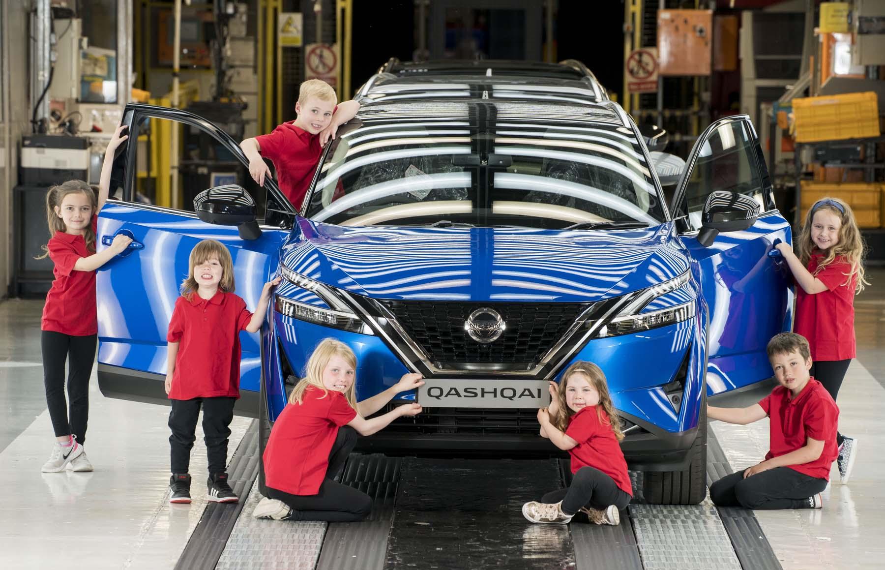 RR NISSAN YOUNG INSPECTORS 22 Nissan : ξεκινά την παραγωγή του νέου Qashqai και προσφέρει μια εμπειρία δεξιοτήτων σε κάθε μαθητή Nissan, Nissan Qashqai, Qashqai, ειδήσεις, Νέα