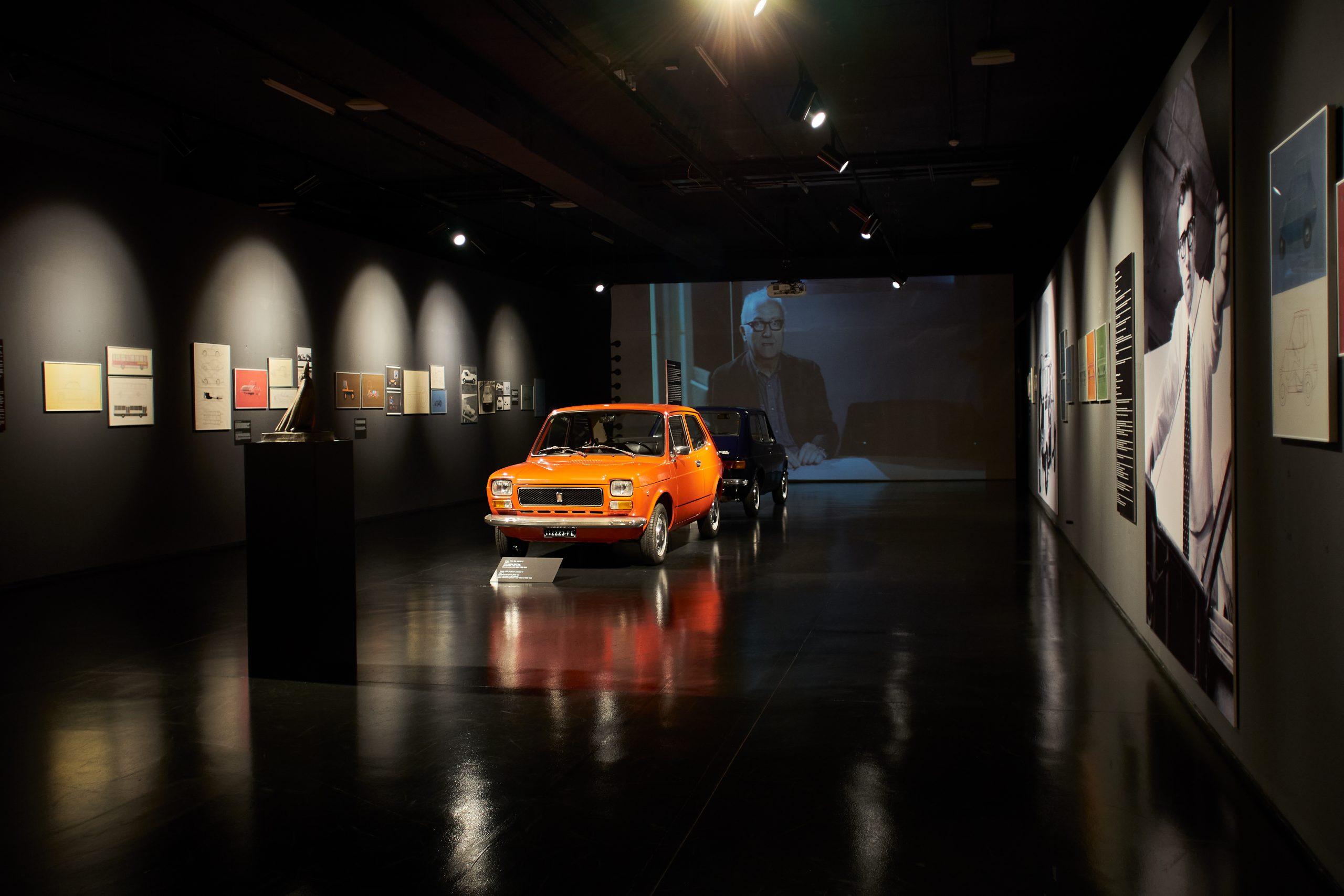 07 Che macchina Exhibition scaled H Fiat, o ιδιοφυής σχεδιαστής και ένα περίεργο ταξί Fiat, retro, ειδήσεις, Νέα