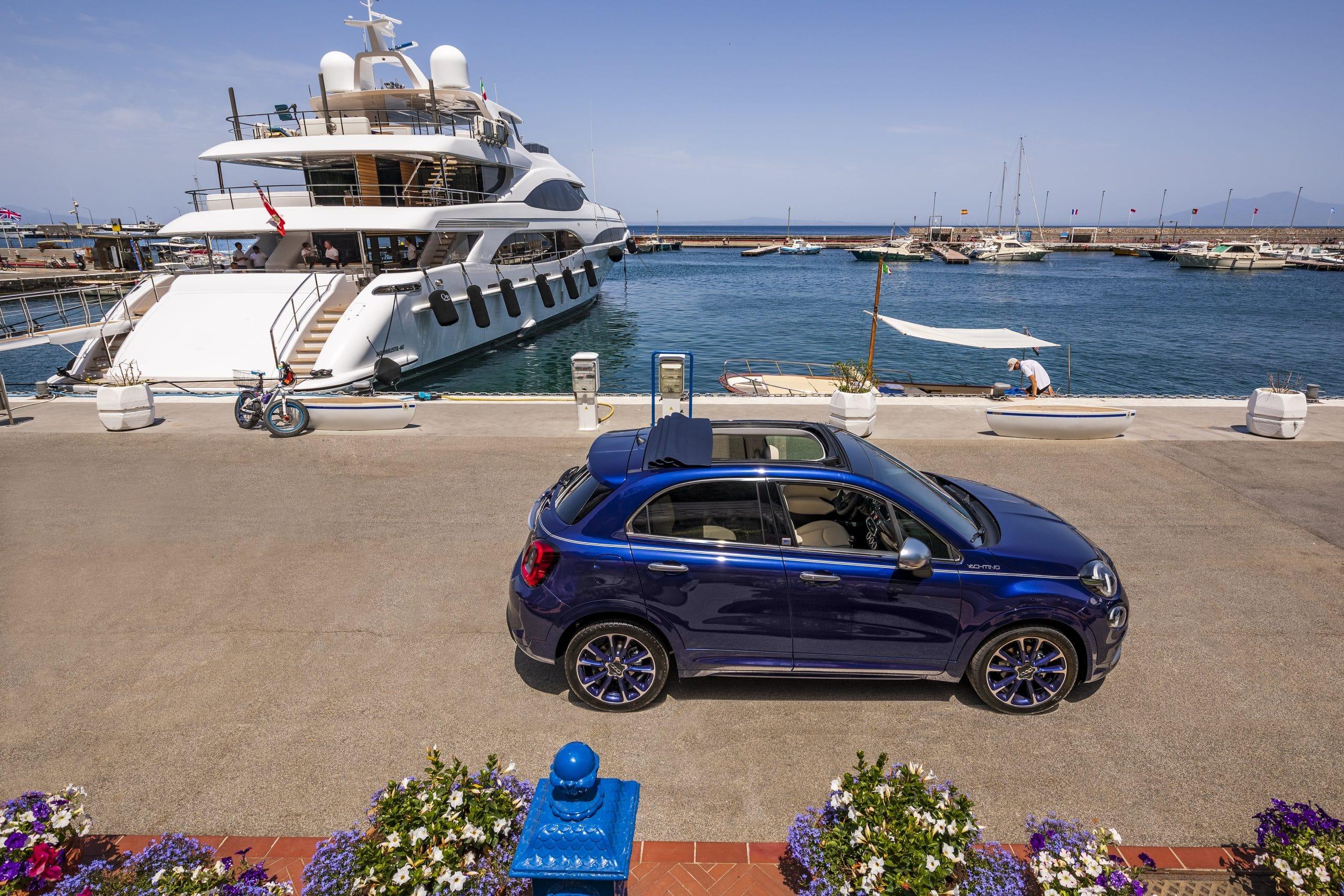 07 500X Yachting scaled 500Χ Yachting : H Fiat γιορτάζει το καλοκαίρι με την πιο ξεχωριστή έκδοση του 500 500, 500Χ Yachting, Fiat, Fiat 500, Fiat 500X, ειδήσεις, Νέα