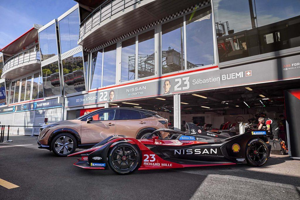 """210714 01 001 Η Nissan """"τρέχει"""" πρόγραμμα βελτίωσης εγκεφάλων. Των οδηγών της Formula E, Nissan, zblog"""