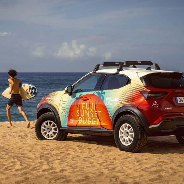 8 1 Το δροσερό πρωτότυπο Nissan JUKE Fuji Sunset Buggy κάνει ντεμπούτο στην Ισπανία