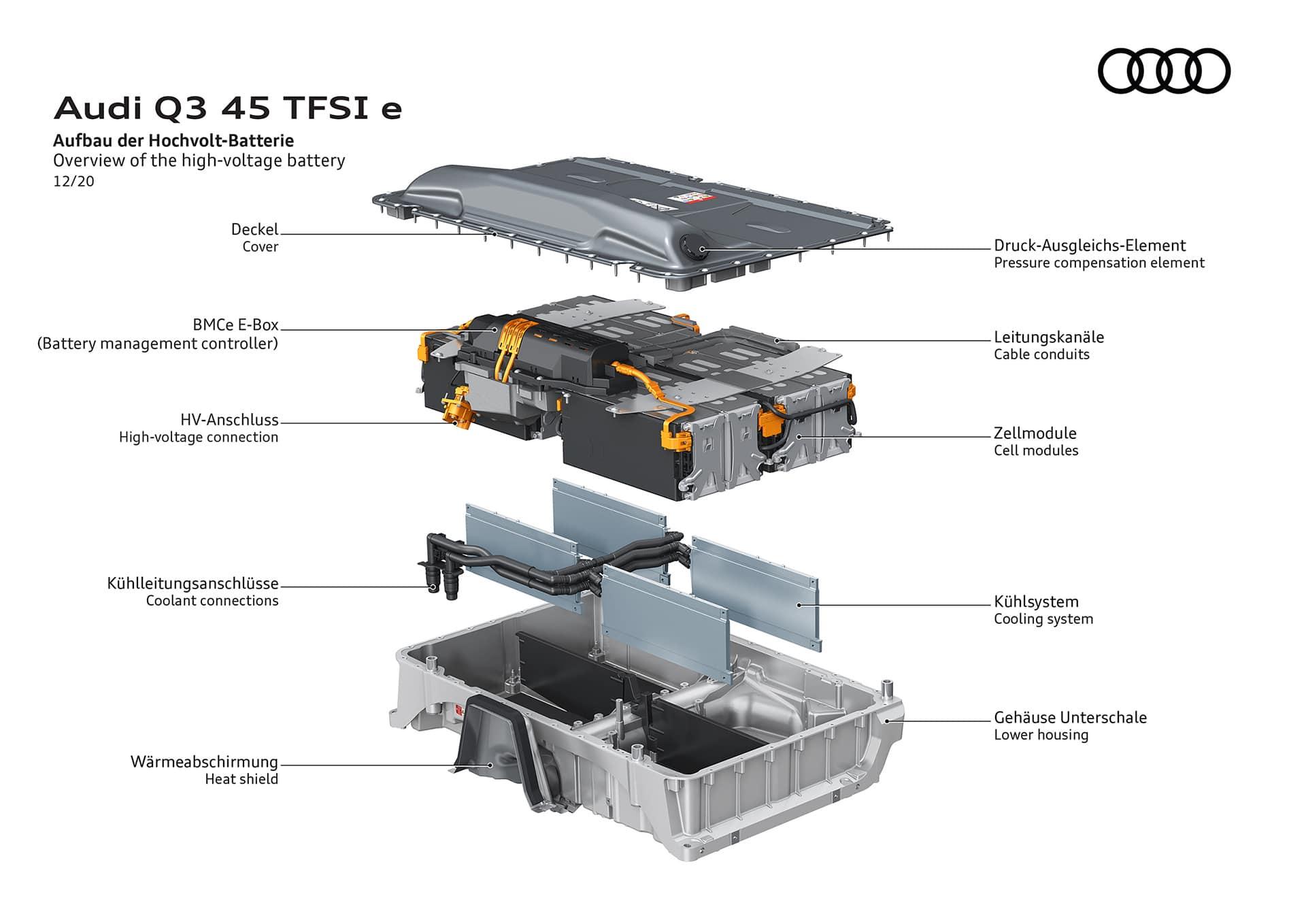 AUDI Q3 TFSI e 75 Αυτά είναι τα plug-in hybrid Audi Q3 TFSI e & Q3 Sportback TFSI e Audi, Audi Q3, Hybrid, plug-in hybrid, Q3, ειδήσεις, Νέα, υβριδικό