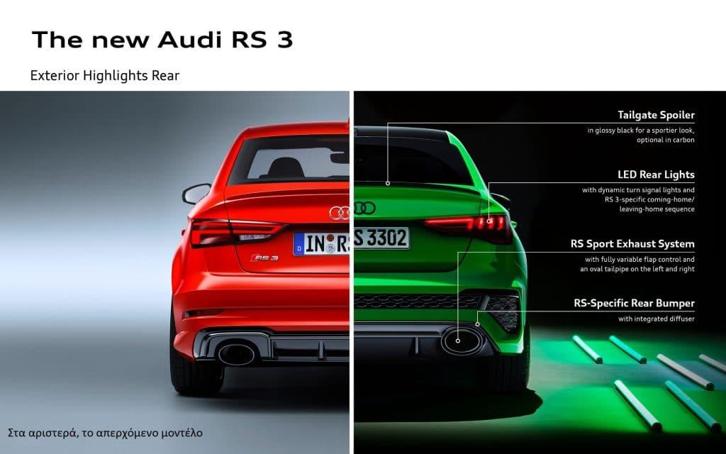 AUDI RS 3 INFOGRAFIK 2 Με drift mode, semi-slick και 400 PS έρχεται το Audi RS3 Audi, Audi RS3, drift, zblog, καινούρια, τιμές