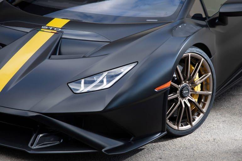 Huracan STO test Nardo 306 H Bridgestone ανέπτυξε ελαστικά ειδικά για τη Lamborghini Huracán STO