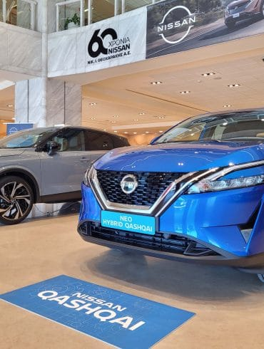 New Qashqai showroom 3 Πάτησε Ελλάδα το ολοκαίνουριο Nissan Qashqai
