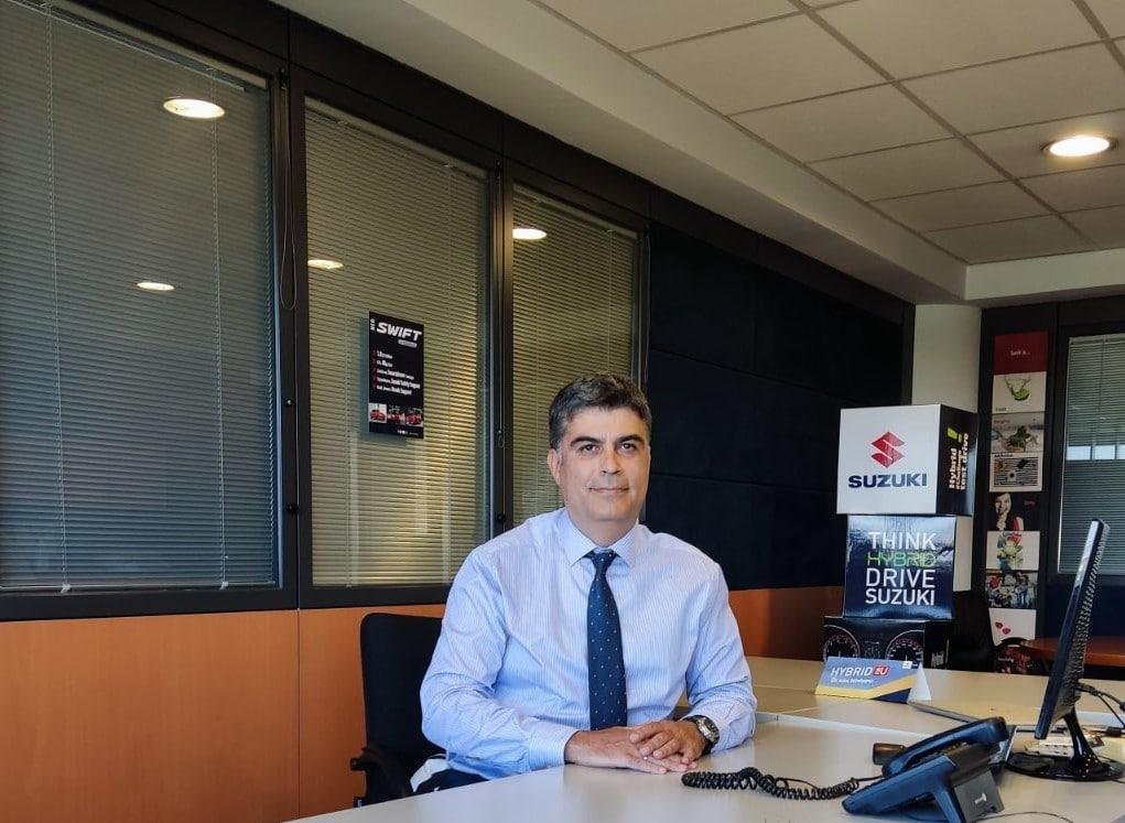 Photo κος Ιάκωβος Αλμασίδης Suzuki AFS Moto Manager 2 Νέος διευθυντής After Sales στη Suzuki Suzuki, αγορά