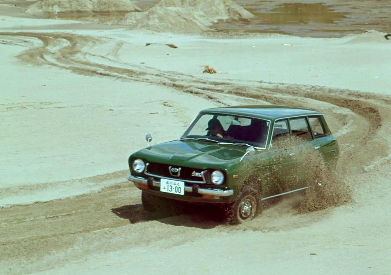 Subaru Leone 4WD Estate Van 1972 49 χρόνια τετρακίνητα Subaru: Από το Leone στο Impreza και το Outback Subaru, Subaru Impreza WRX, zblog