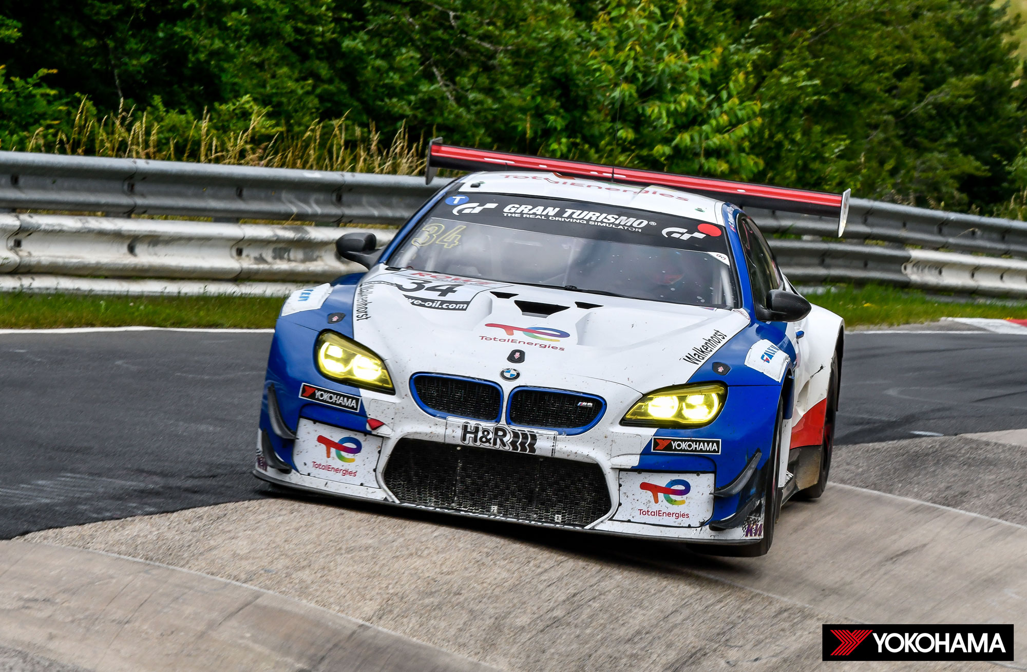 "Yokohama BMW NLS H Yokohama και η BMW ""σάρωσαν"" το Nurburgring BMW, Racing Team, YOKOHAMA, YOKOHAMA ADVAN"