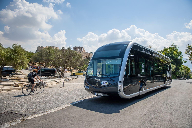 saracakis irizar electric bus 2 Είναι τραμ; Είναι διαστημόπλοιο; Είναι το νέο e- λεωφορείο της Αθήνας! zblog, αθήνα, αστικές συγκοινωνίες, ειδήσεις, ηλεκτρικά, ηλεκτροκινηση, λεωφορείο, Νέα