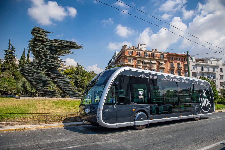 saracakis irizar electric bus Είναι τραμ; Είναι διαστημόπλοιο; Είναι το νέο e- λεωφορείο της Αθήνας! zblog, αθήνα, αστικές συγκοινωνίες, ειδήσεις, ηλεκτρικά, ηλεκτροκινηση, λεωφορείο, Νέα