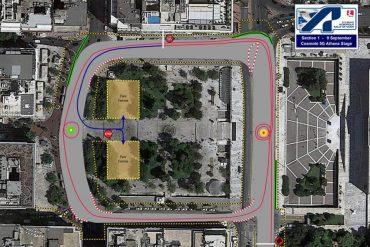 photo fanaria 3 Στο δρόμο για το Rally Acropolis: Νέα φανάρια Led στην πλατεία Συντάγματος