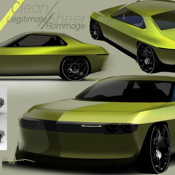 "Electrified Nissan Silvia Όταν η Nissan ""εξηλέκτρισε"" ένα Silvia του 1960"