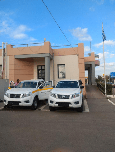 NAVARA PLATANIA O Δήμος Πλατανιά ενισχύει τις υπηρεσίες του με Nissan NAVARA