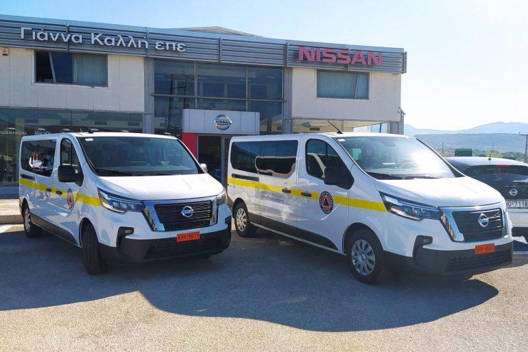 PP EPIRUS NV300 Η Πολιτική Προστασία Ηπείρου ενισχύει τον στόλο των οχημάτων της με Nissan NV300 Combi
