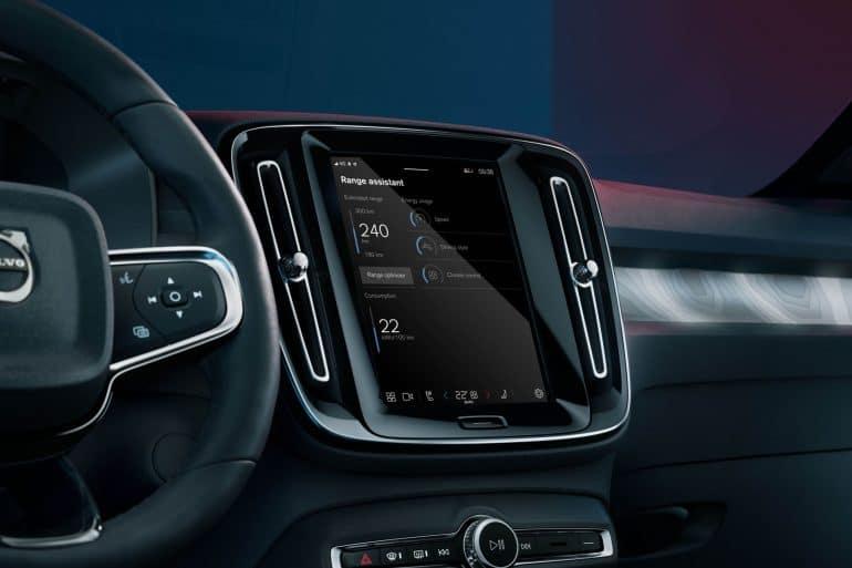 289322 Volvo Cars new Range Assistant app for fully electric cars Η Volvo λανσάρει app που μεγαλώνει την αυτονομία του XC40 Recharge!